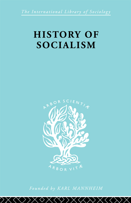 Harry W. Laidler - History of Socialism