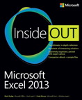 Microsoft Excel 2013 Inside Out: