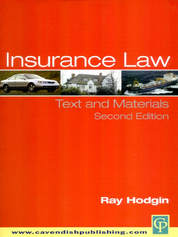 Insurance Law 2/e Text and Materials
