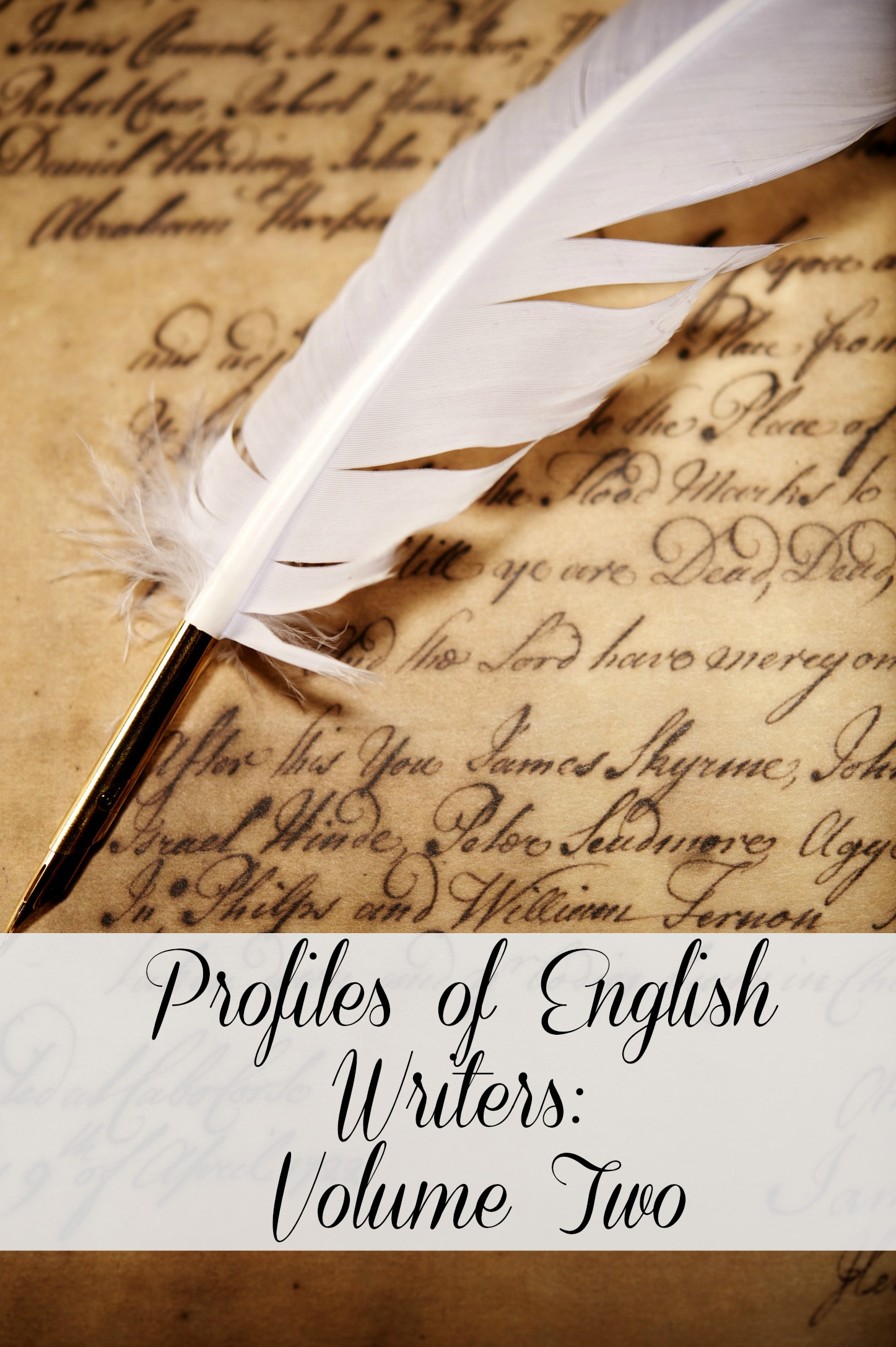 Profiles of English Writers: Volume Two of Three