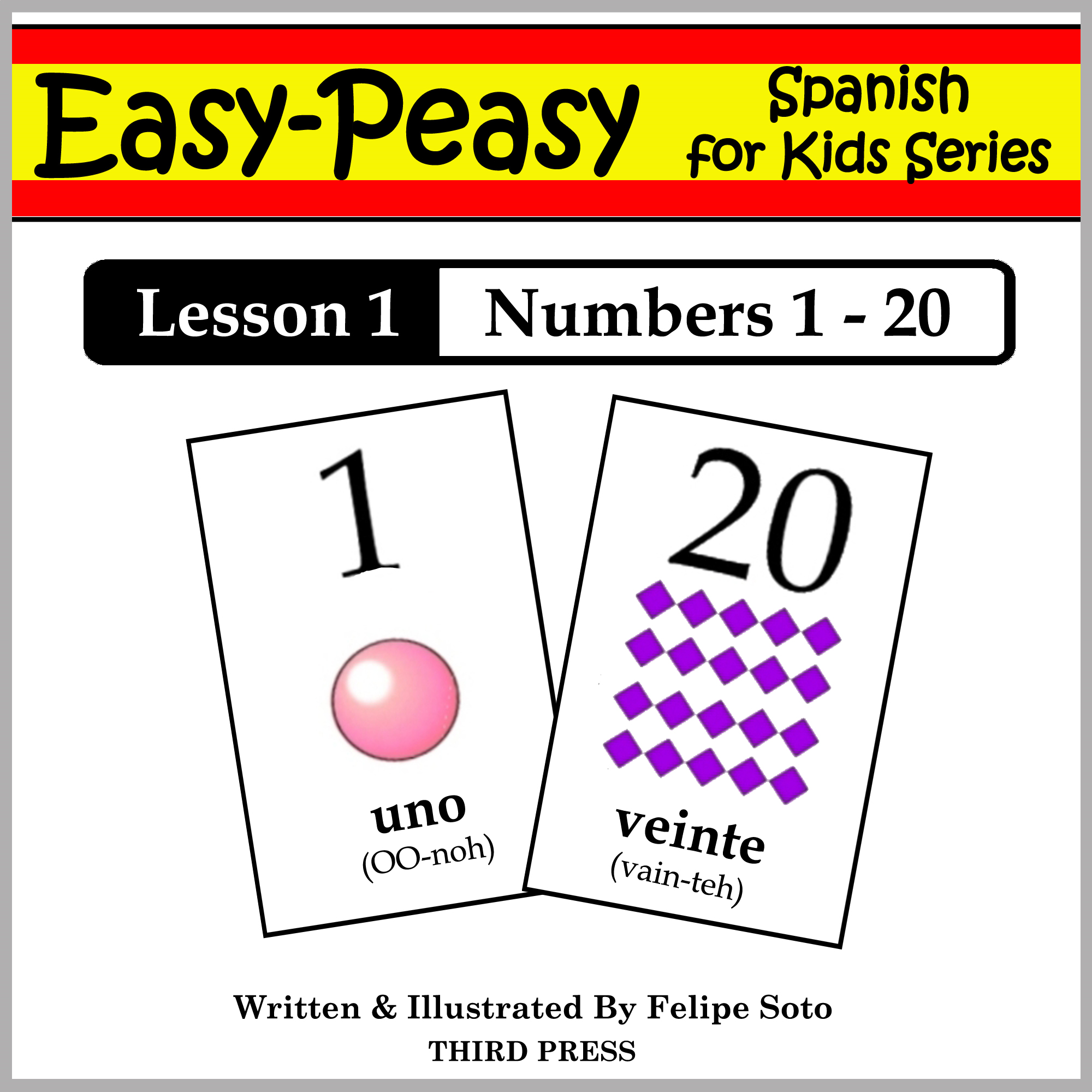 Spanish Lesson 1: Numbers 1 to 20 By: Felipe Soto