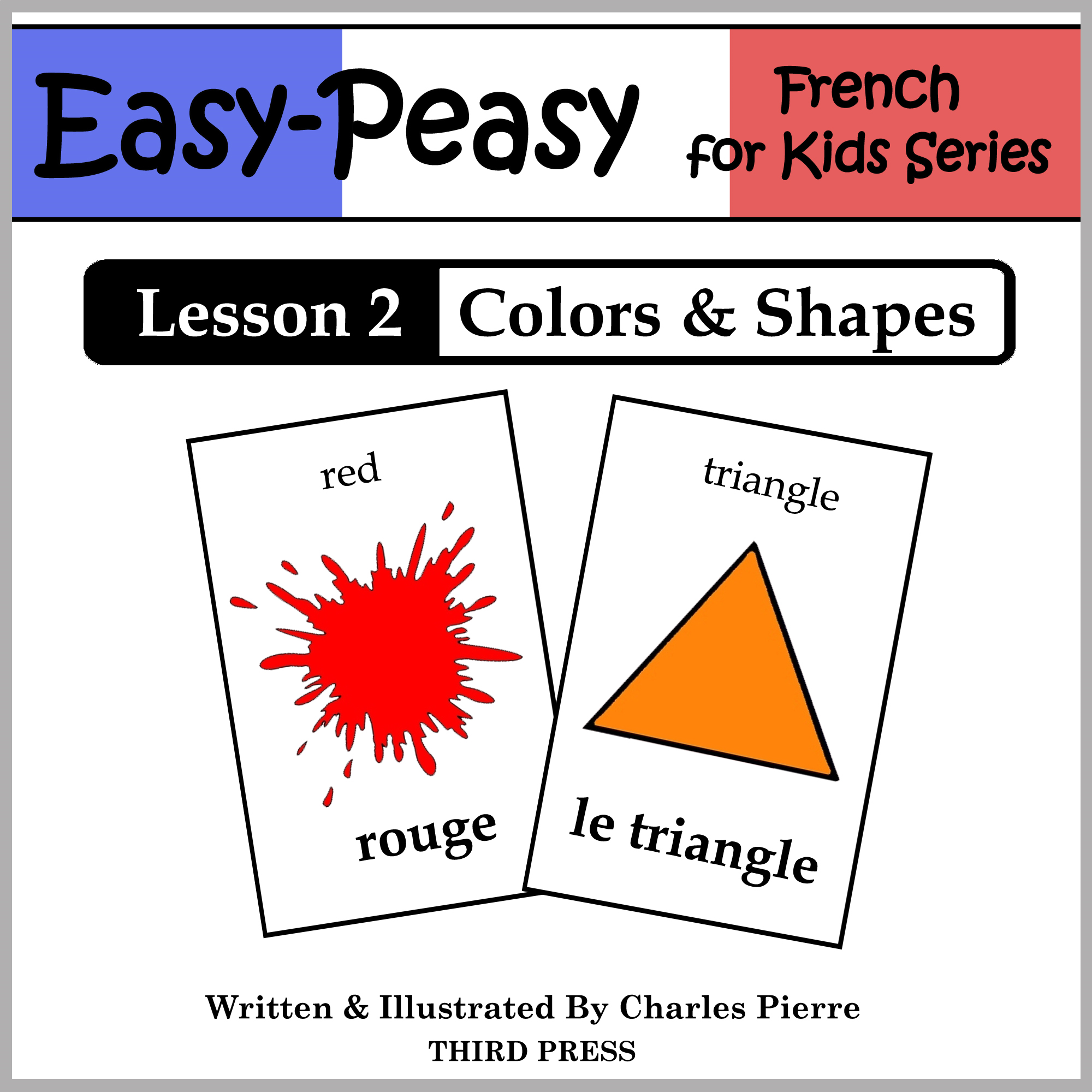 French Lesson 2: Colors & Shapes