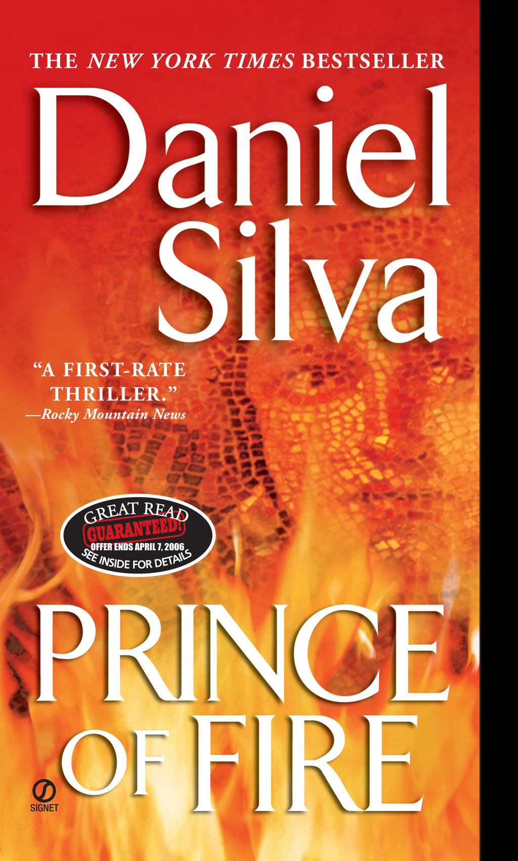 Prince of Fire By: Daniel Silva