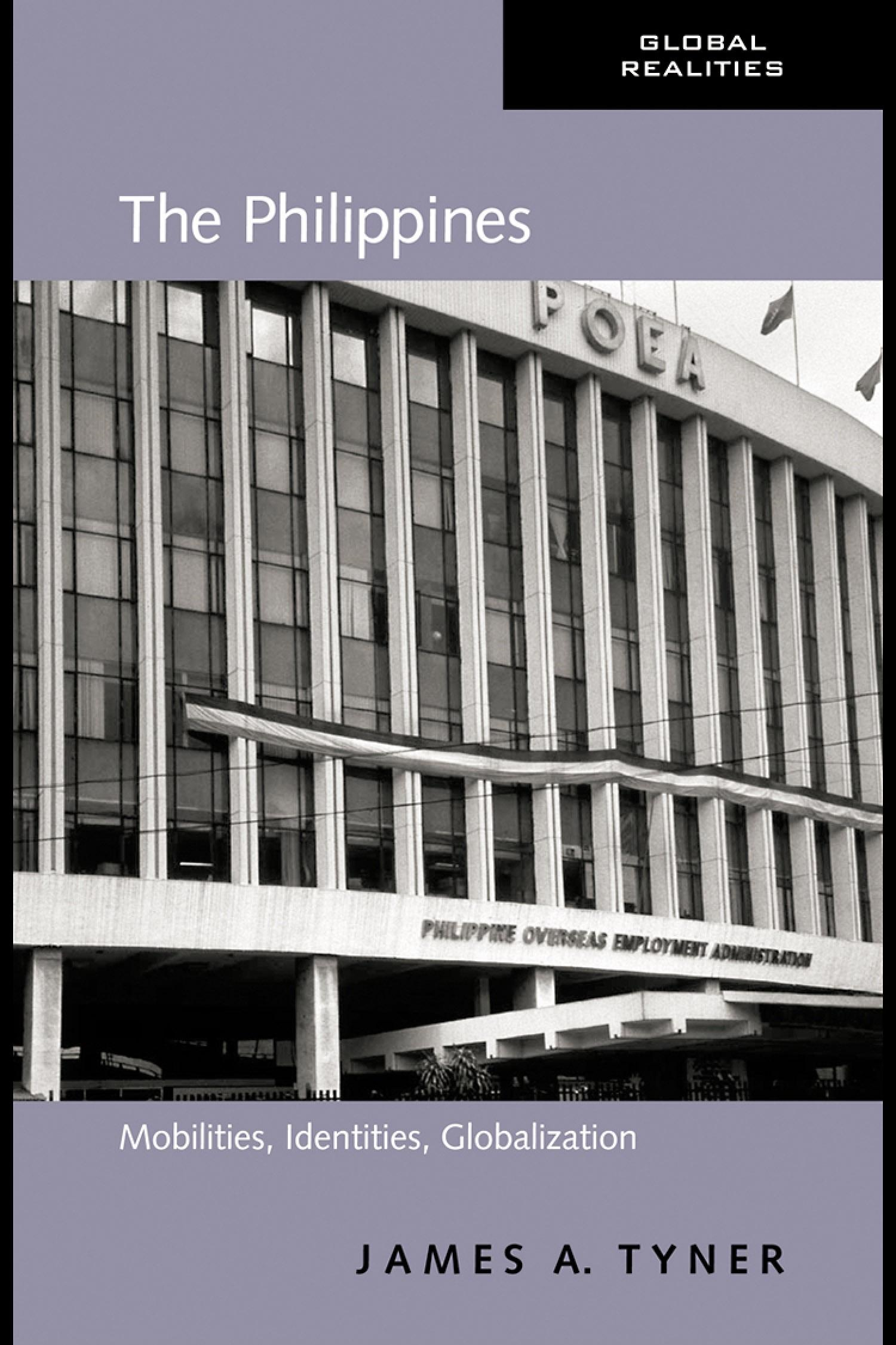 The Philippines: Mobilities, Identities, Globalization