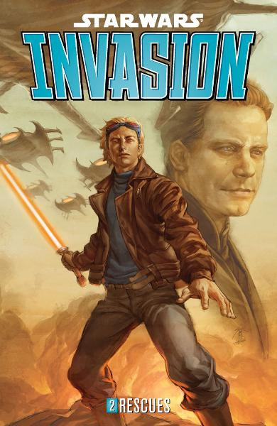 Star Wars: Invasion Volume 2--Rescues By: Tom Taylor, Colin Wilson (Artist), Jo Chen (Cover Artist)