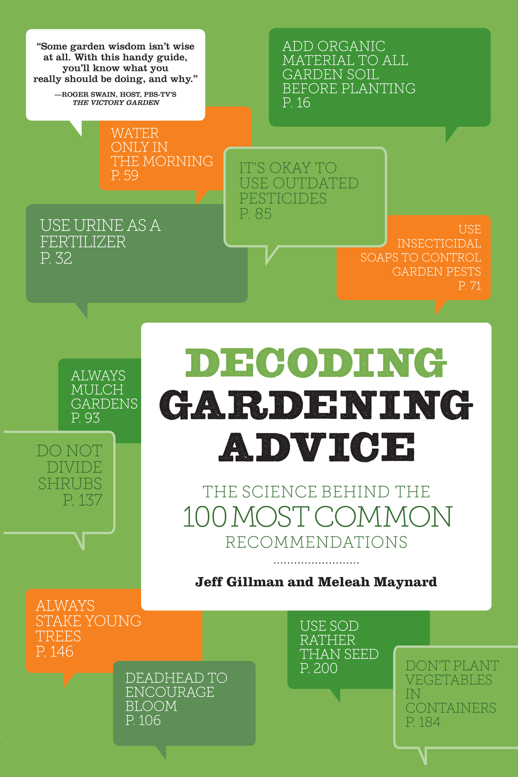 Decoding Gardening Advice By: Jeff Gillman,Meleah Maynard
