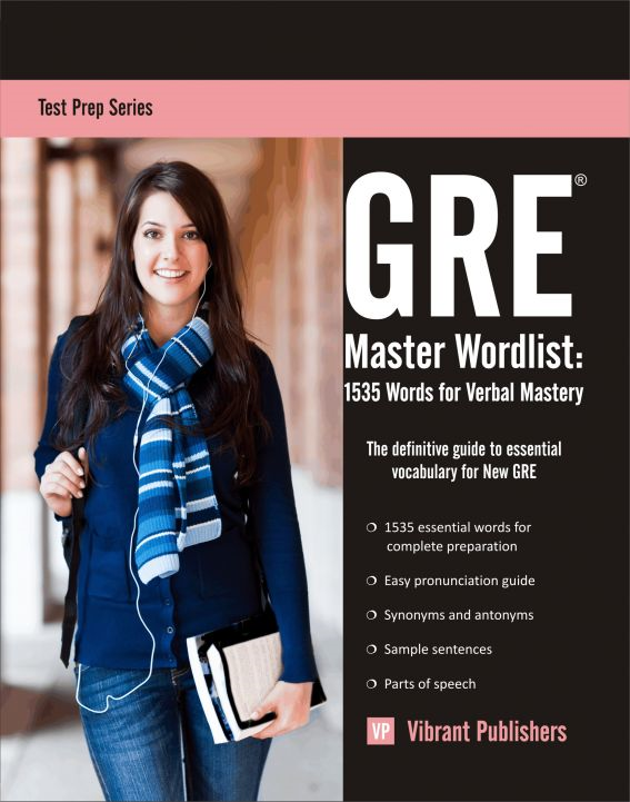 GRE Master Word List: 1535 Words for Verbal Mastery