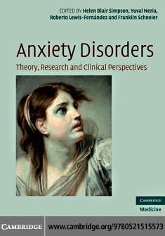 Anxiety Disorders By: Simpson, Helen Blair