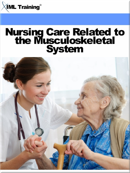 Nursing Care Related to the Musculoskeletal System (Nursing) Includes Orthopedic Nursing,  Crutch Walking Gaits,  Use of Casts,  Traction,  Contusion,  Spr
