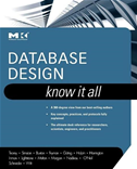 Database Design: Know It All: