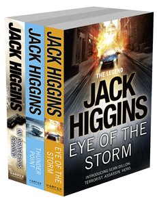 Sean Dillon 3-Book Collection 1: Eye of the Storm, Thunder Point, On Dangerous Ground