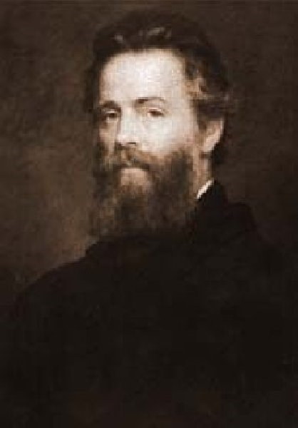 Cover Image: Herman Melville: 10 novels, 1 short story collection, and two books of poetry