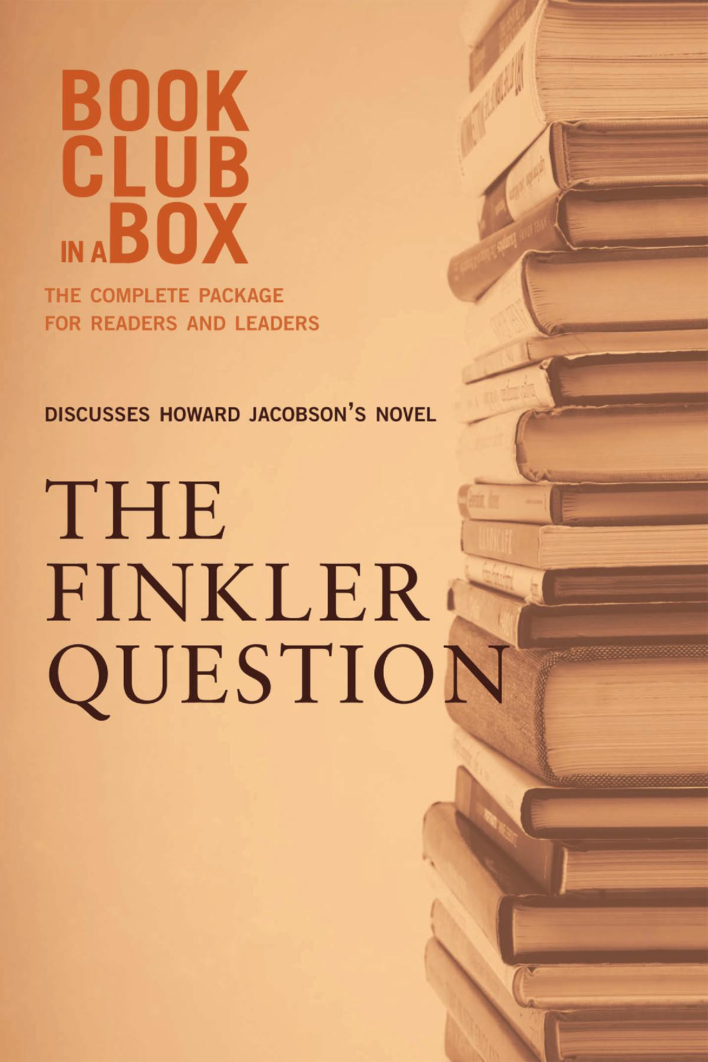 Bookclub-in-a-Box Discusses The Finkler Question, by Howard Jacobson