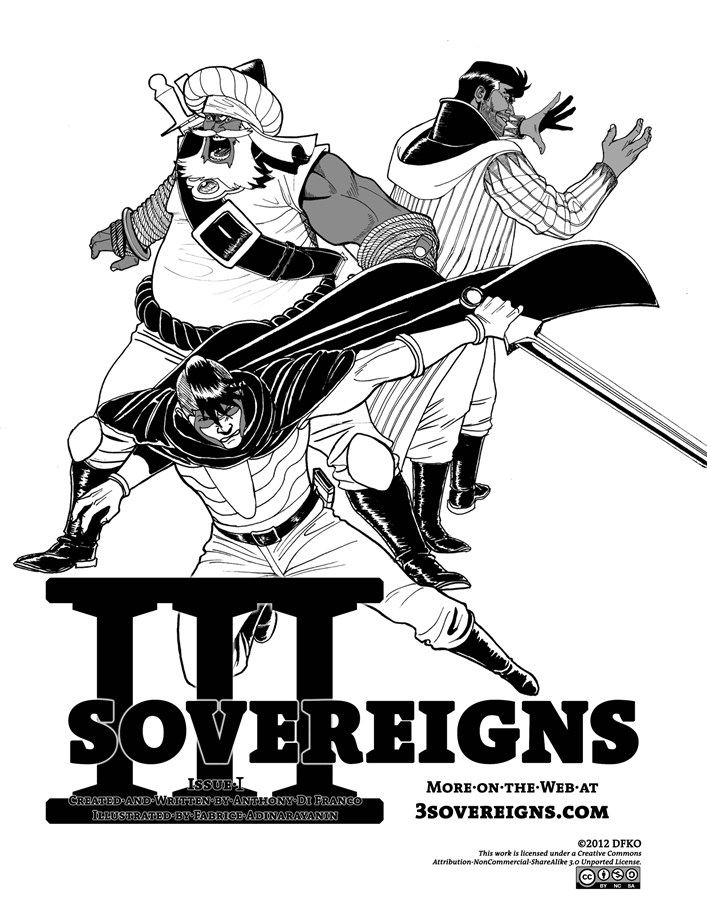Three Sovereigns #1 By: Anthony Di Franco,Fabrice Adinarayanin