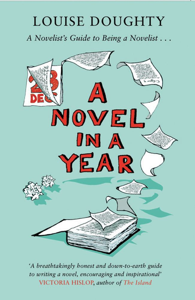 A Novel in a Year A Novelist's Guide to Being a Novelist