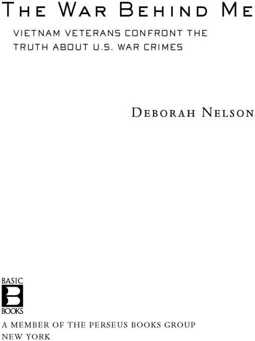 The War Behind Me By: Deborah Nelson