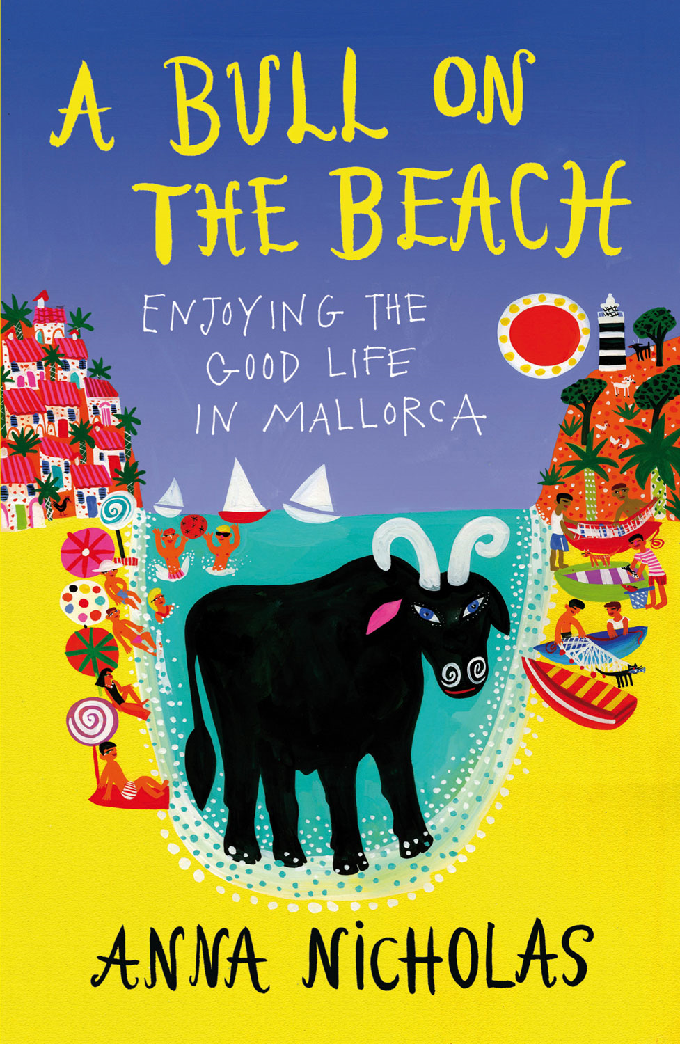 A Bull on the Beach