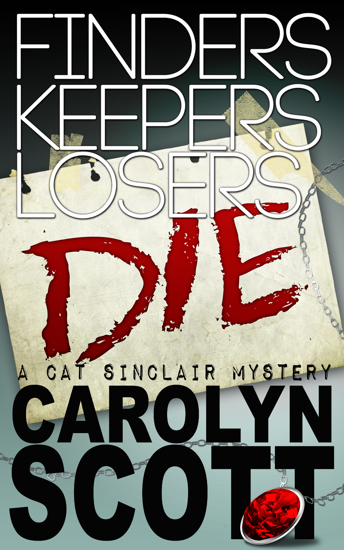 Finders Keepers Losers Die By: Carolyn Scott