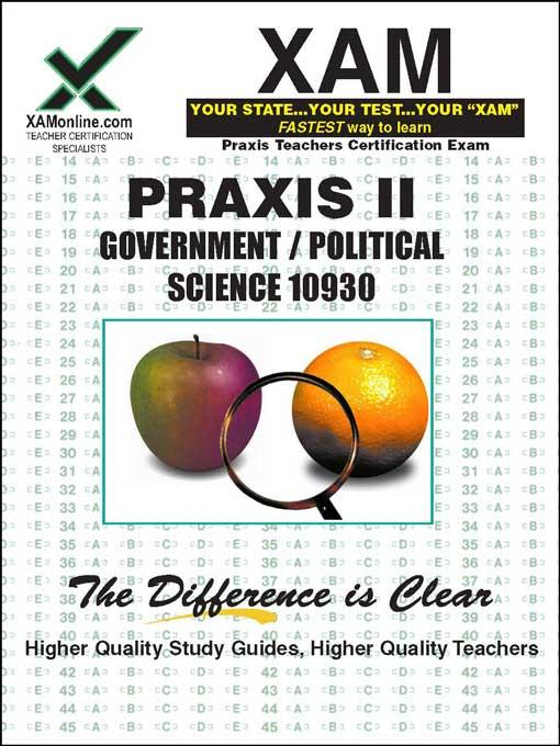 Sharon Wynne - PRAXIS Government/Poltical Science 10930