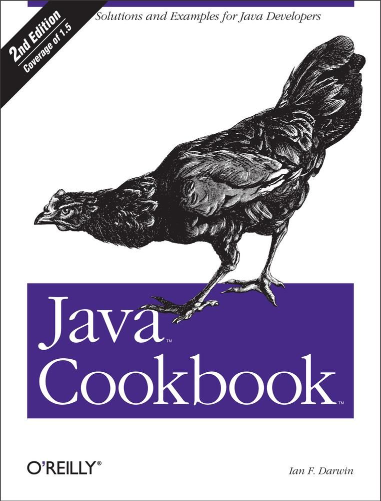 Java Cookbook By: Ian F Darwin
