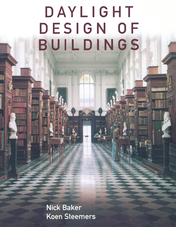 Daylight Design of Buildings A Handbook for Architects and Engineers