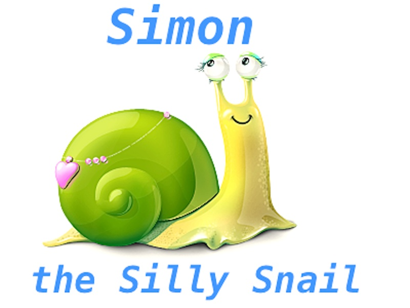 Simon The Silly Snail
