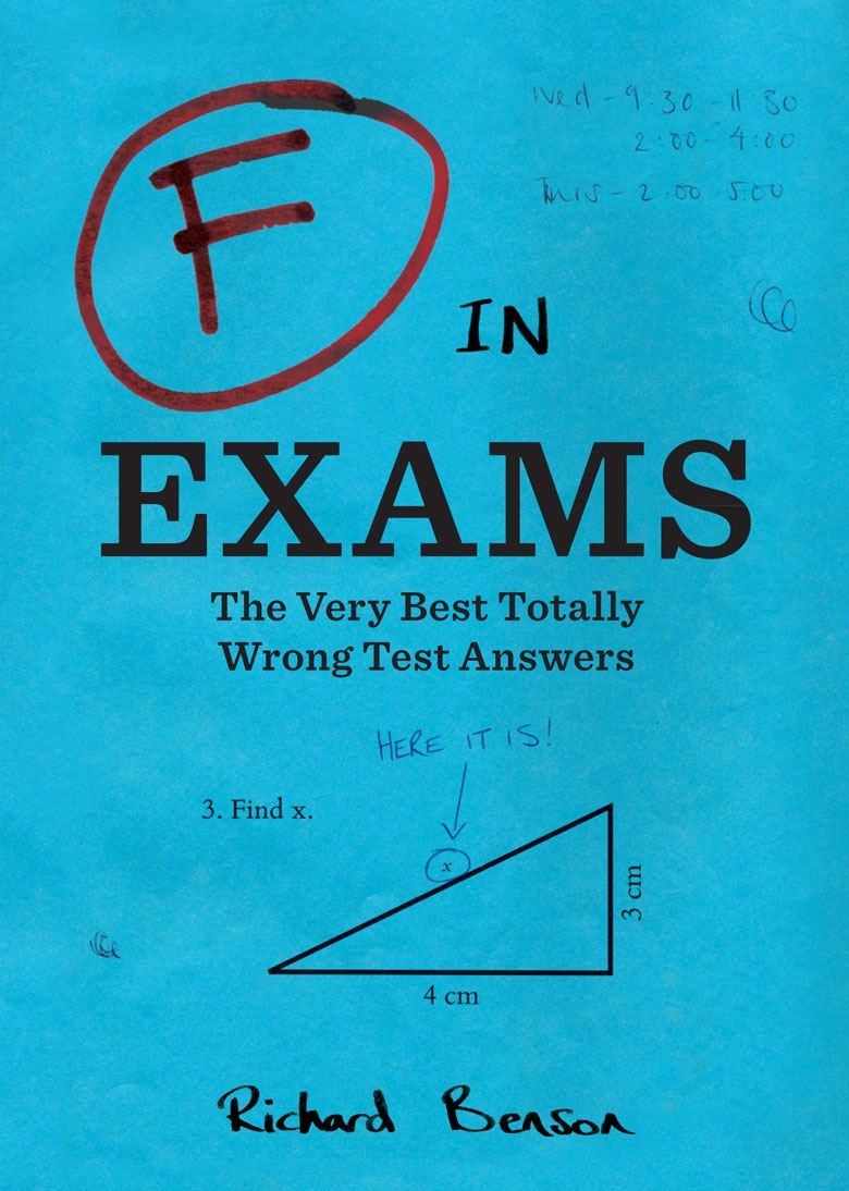 F in Exams pb By: Richard Benson