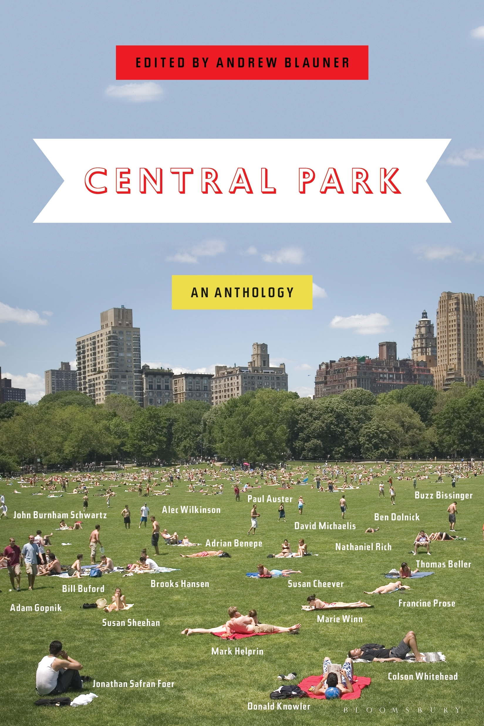 Central Park An Anthology