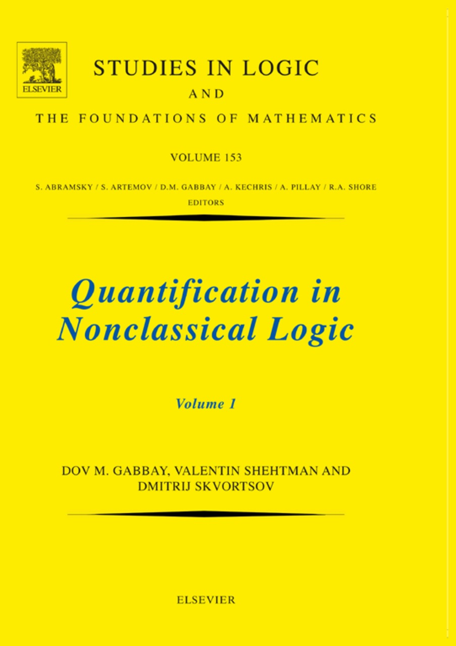 Quantification in Nonclassical Logic