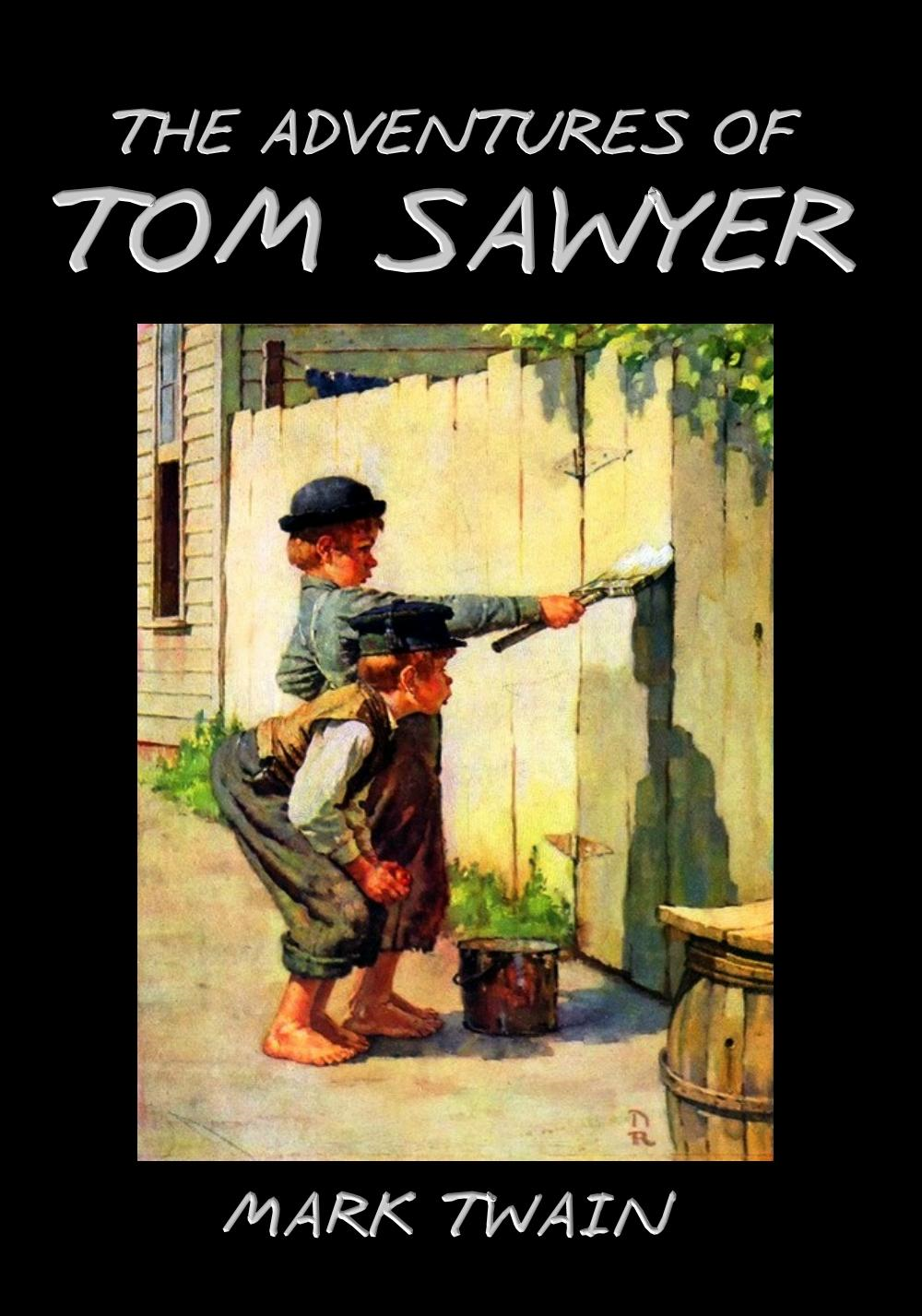 a book report on the adventures of tom sawyer by mark twain The adventures of tom sawyer by mark twain is a very enthralling novel it is about an imaginative young boy, tom sawyer who can be very mischievous but is naturally good, instead of his half brother sid, or the novel's antagonist, injun joe.