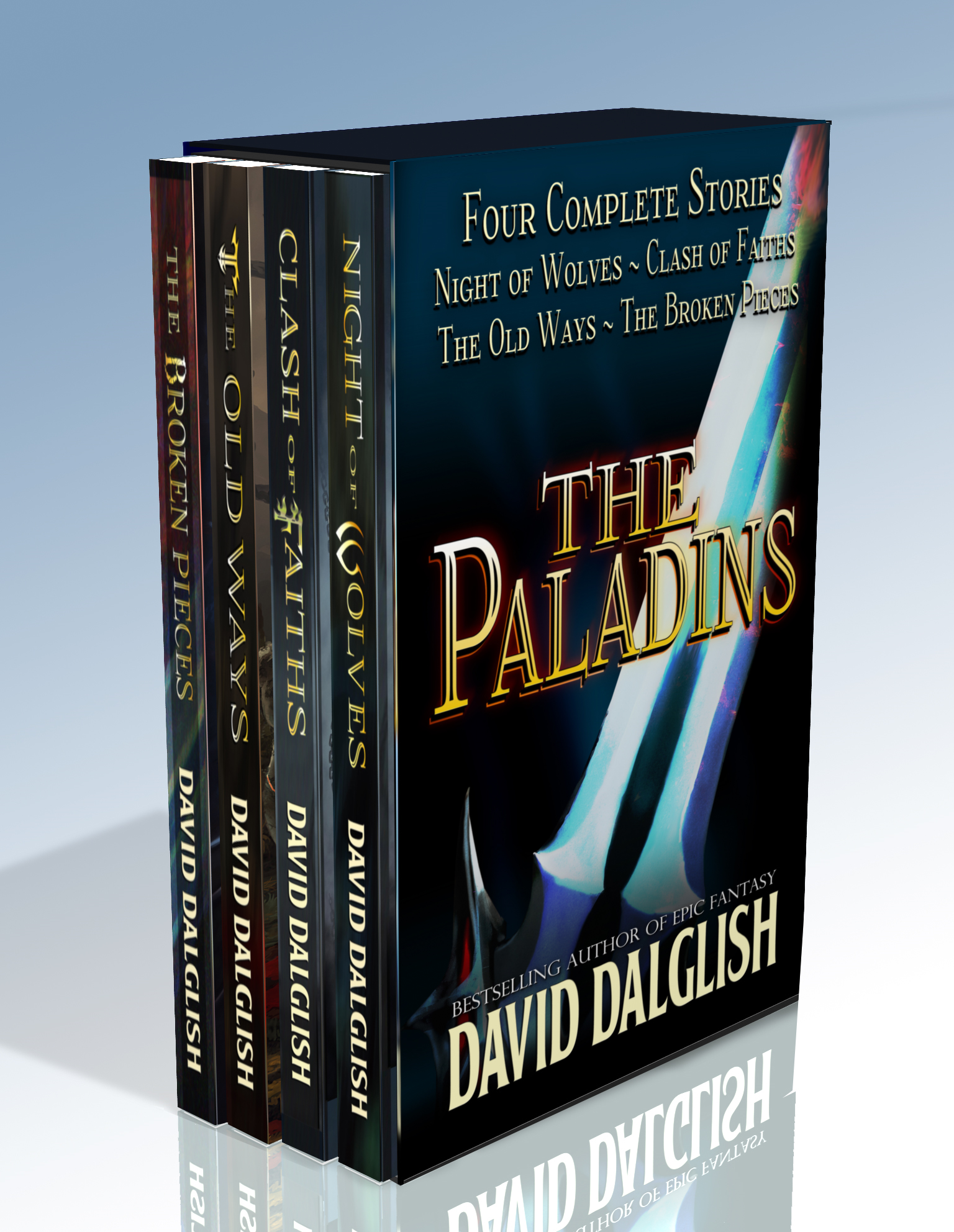 The Paladins 4-Book Bundle