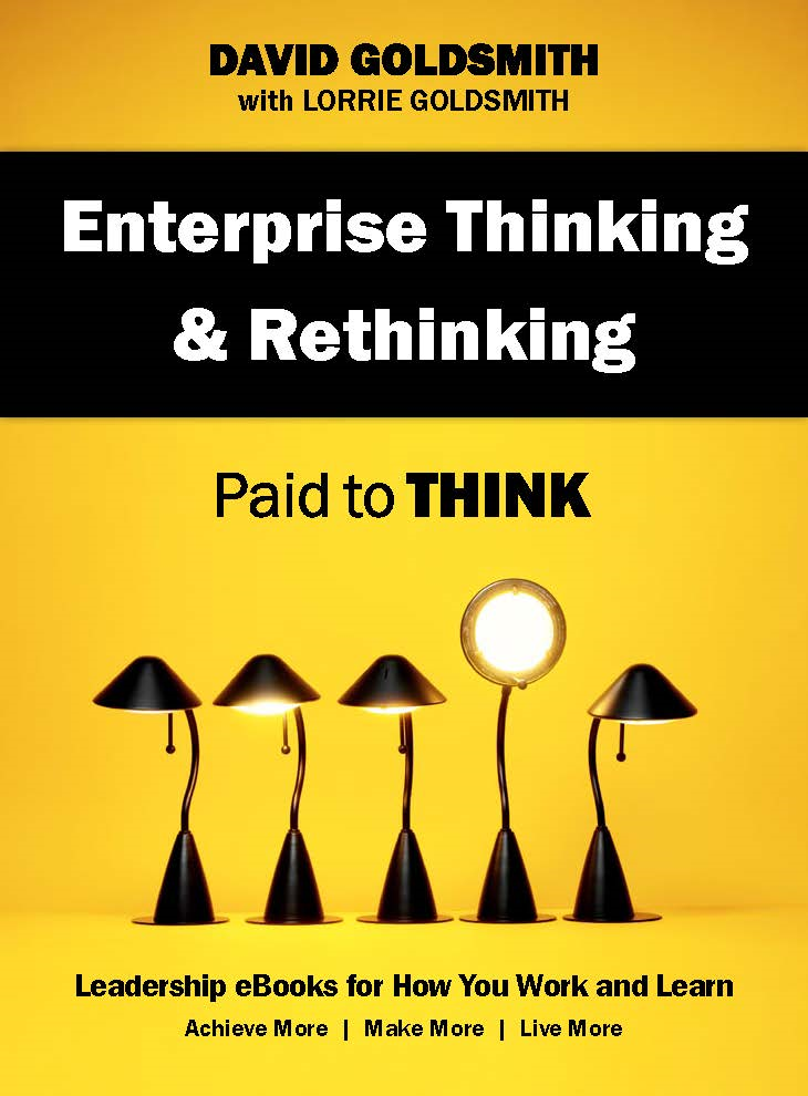 Enterprise Thinking & Rethinking: Paid to Think