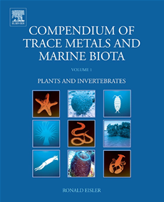Compendium of Trace Metals and Marine Biota Volume 1: Plants and Invertebrates