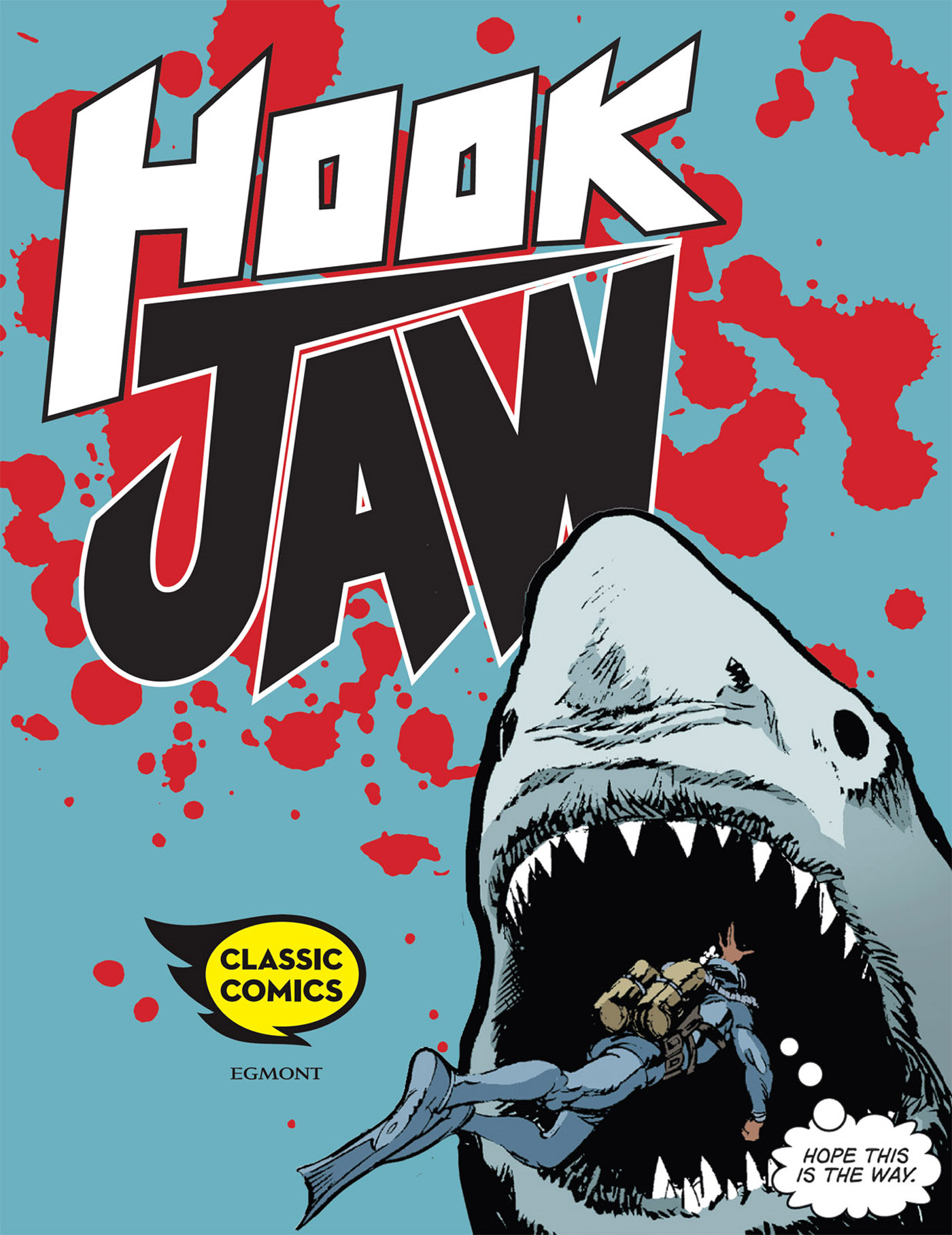 Hookjaw Comic Issue 1