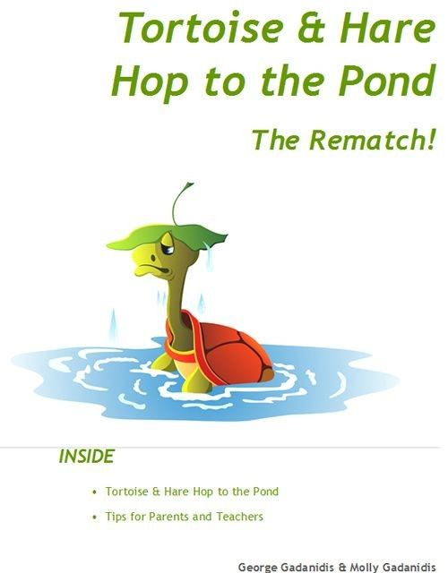 Tortoise & Hare Hop to the Pond - The Rematch!