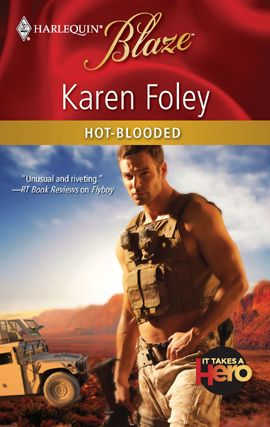 Hot-Blooded By: Karen Foley