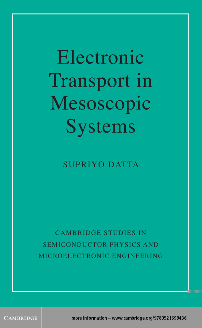 Electronic Transport in Mesoscopic Systems