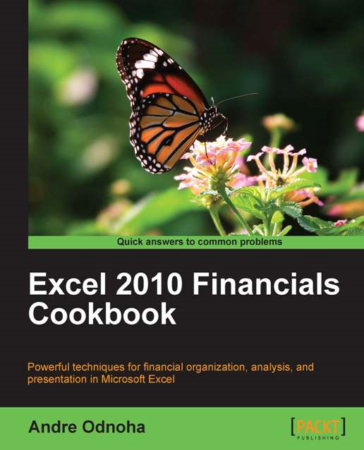 Excel 2010 Financials Cookbook By: Andre Odnoha