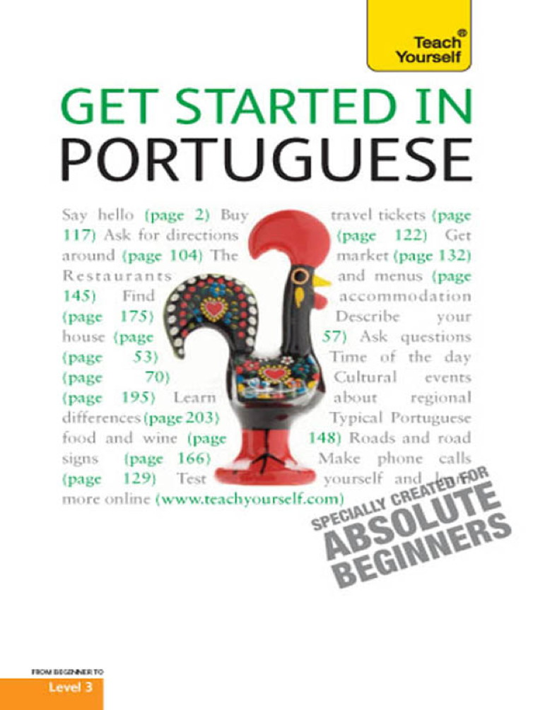 Get Started In Portuguese: Teach Yourself