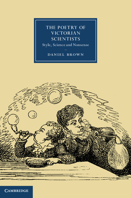 The Poetry of Victorian Scientists Style,  Science and Nonsense