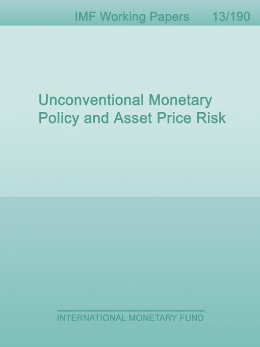 unconventional monetary policy in usa and