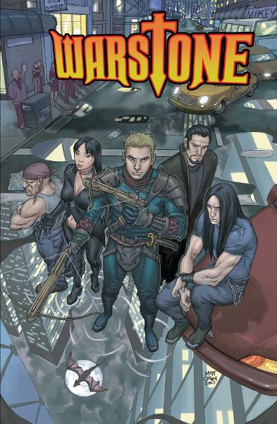 Warstone [Graphic Novel] By: Josh Blaylock, Matt Cossin, Sean O'Reilly