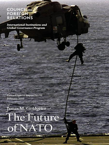 The Future of NATO By: James M. Goldgeier