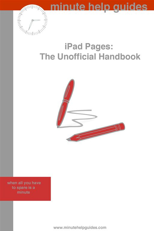 iPad Pages: The Unofficial Handbook