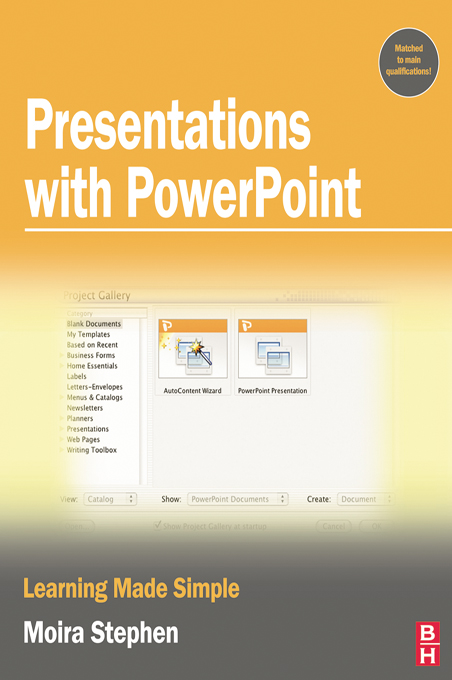 Presentations with PowerPoint