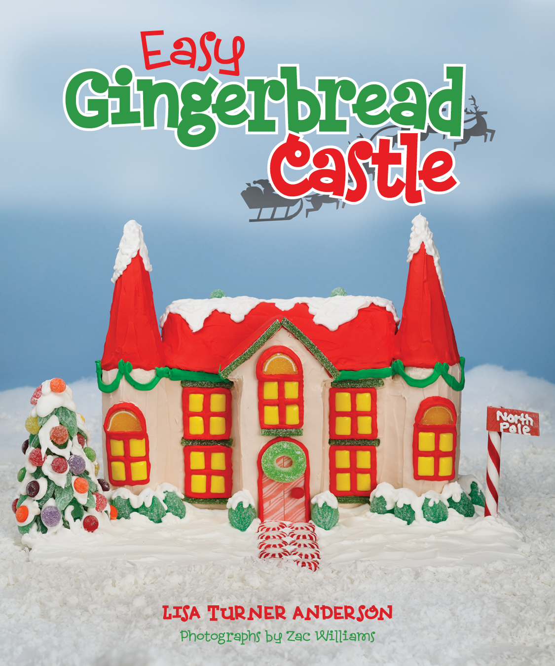 Easy Gingerbread Castle