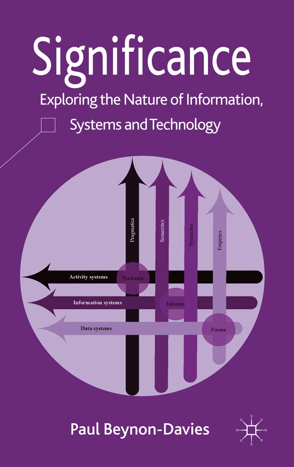 Significance Exploring the Nature of Information,  Systems and Technology