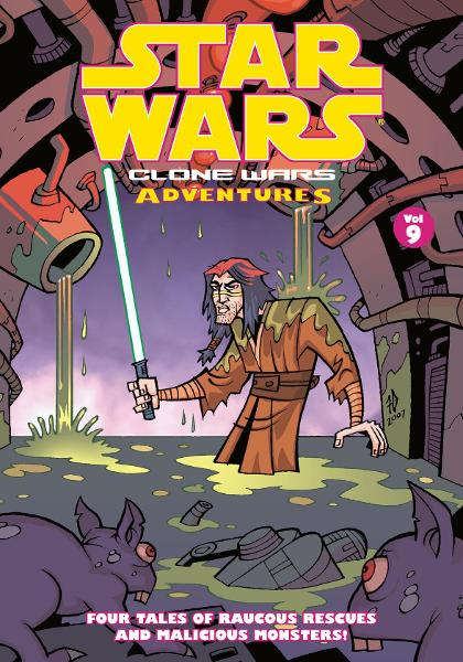 Star Wars: Clone Wars Adventures Volume 9 By: Matthew Fillbach, Shawn Fillbach, Various