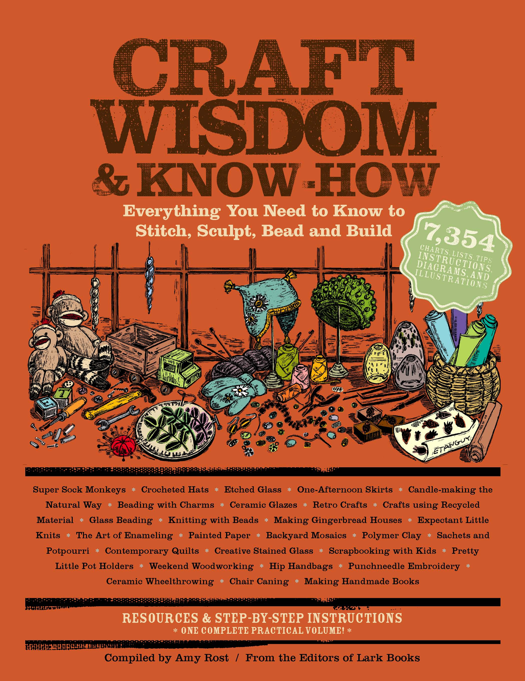 Craft Wisdom & Know-How By: Amy Rost,The Editors of Lark Books