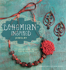 Bohemian Inspired Jewelry 5 Designs Using Leather, Ribbon, and Cords